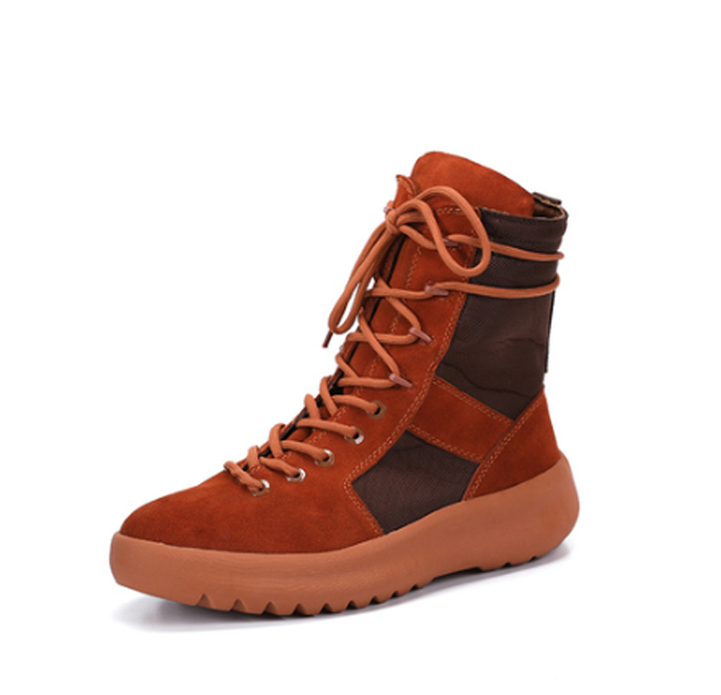 Mens Handmade Yezus High top Hiking boots Luxury brand Kanye west ShoesMens Handmade Yezus High top Hiking boots Luxury brand Kanye west Shoes