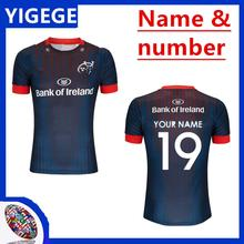 4ed70924c34 YIGEGE 2019/20 MUNSTER ALTERNATE JERSEY 2018/19 home away shirts Ireland  league rugby