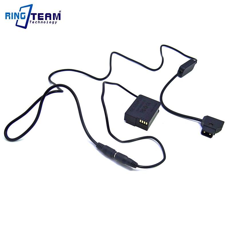 D-cabo de Alimentação da Torneira + Blc12 dc para Panasonic Acoplador Lumix Fz1000 Fz300 g7 g6 g5 Gh2 Gh2k Gh2s Gx8 G80 G85 Câmeras 10-24 v Dmw-dcc8