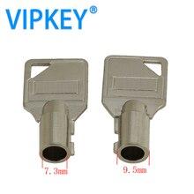 7.3mm 7.5mm 7.8mm tubular Plum blossom lock  tubular blank key
