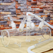 FOUR POINTS TANK GLASS HOOKAH SHISHA FOR FOUR PEOPLE SMOKING MULTI USERS BIG TANK SHISHA HOOKAH HUKA WATER CHICHA NARGUILE