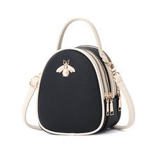 Luxury Handbags Women Bags Designer Ladies  Pu Leather Shoulder Bag for Women  2018 Fashion Bee cb06f47cb8d3a
