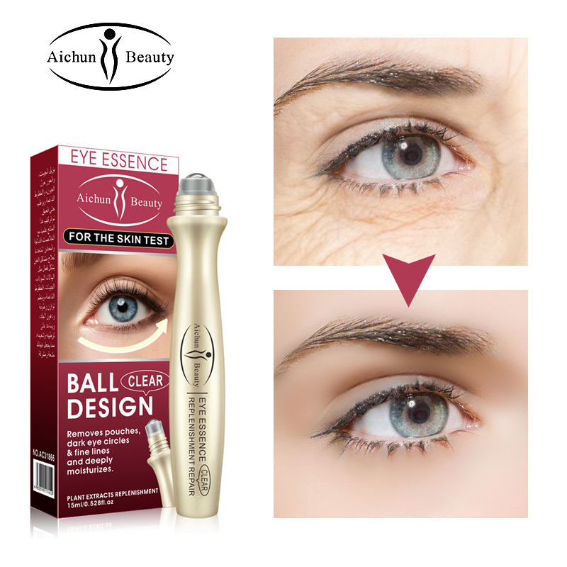 Eye serum Remove dark circles Anti edema Remove fat particles Remove fine lines Moisturizing Around the eye essence care 15ml