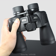 лучшая цена 16X50 binoculars High power field-glasses telescope waterproof nitrogen HD green film bak4 tourism optical outdoor eyepiece new