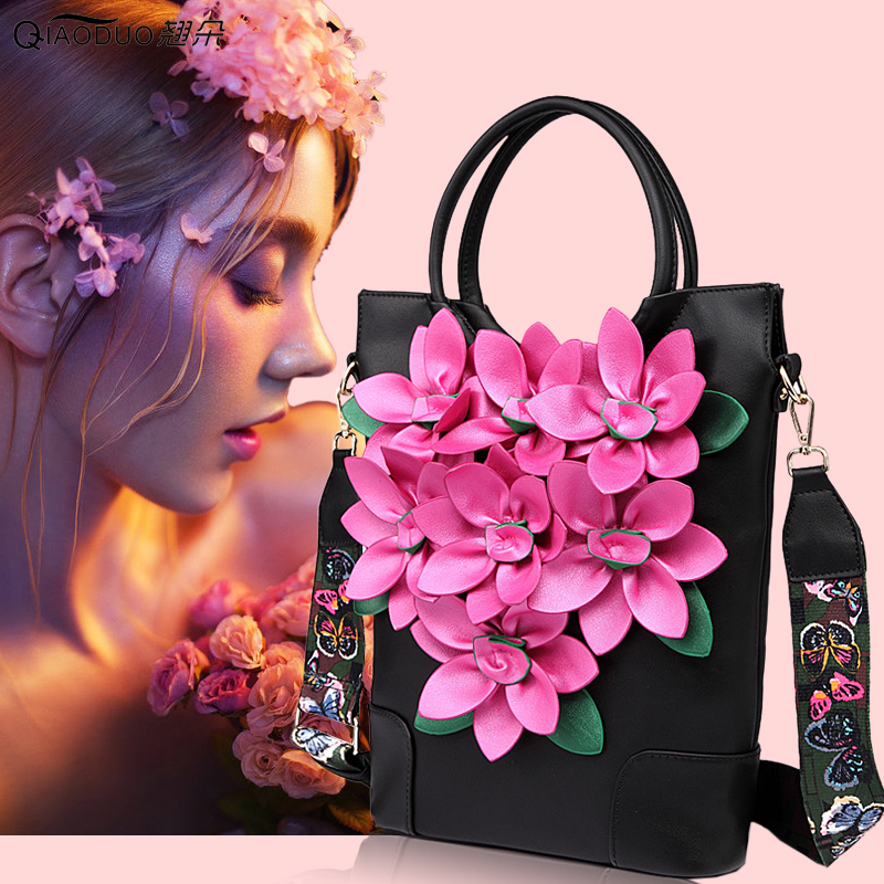 2018 New Style Ladies Shoulder Crossbody Bag Soft PU Leather Zipper Flower Top-handle Bags Sent Friends Women Vintage Handbags2018 New Style Ladies Shoulder Crossbody Bag Soft PU Leather Zipper Flower Top-handle Bags Sent Friends Women Vintage Handbags