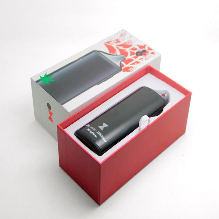 black window kingtons vaporizer e cigarette kit detail