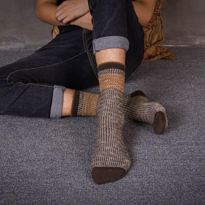 PEONFLY Pure Ancient Ways Man Men Socks Full Cotton Damp Socks Original Socks Male 5PAIRS/LOT Odd Future