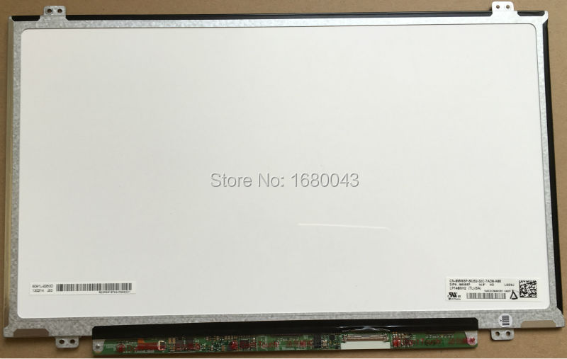 Free shipping LP140WH2 TLSA fit LP140WH2 TLP1 TLQ1 TLS1 TLM2 TLN1 TLN2 LED LVDS 1366X768 14.0 inch slim Laptop LCD Screen 40 PIN