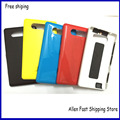 New OEM  Back Cover For Nokia Lumia 820 ,Battery Cover Case Replaccement With Side Button For Nokia Lumia 820  Housing +LOGO