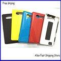 New OEM tampa traseira para Nokia Lumia 820, Caso da tampa da bateria Replaccement com o botão lateral para Nokia Lumia 820 habitação + logotipo