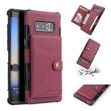 Кожаный бумажник чехол для samsung Galaxy Note 9 8 S9 S8 плюс Слот для карты КРЫШКА ДЛЯ samsung Galaxy J5 2017 случаев Galaxy S8 плюс Coque