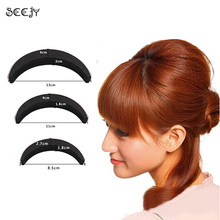 SCCJY Sponge Hair Maker Styling Twist Magic Bun Hair Base Bump Styling Insert Tool Volume Y5R4