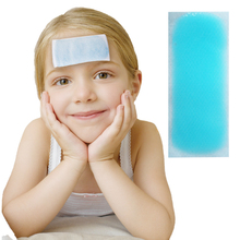 10 Pieces Per Pack Hot Salling Gel Baby Fever Ice Cooling Patch Physically Reducing Fever Relief Sunburn SIZE 5*12cm Or 4*11cm