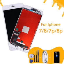 AAA Quality LCD pentalla screen For iPhone 8 lcd Display Assembly Replacement with Original Digitizer  for iphone 7p