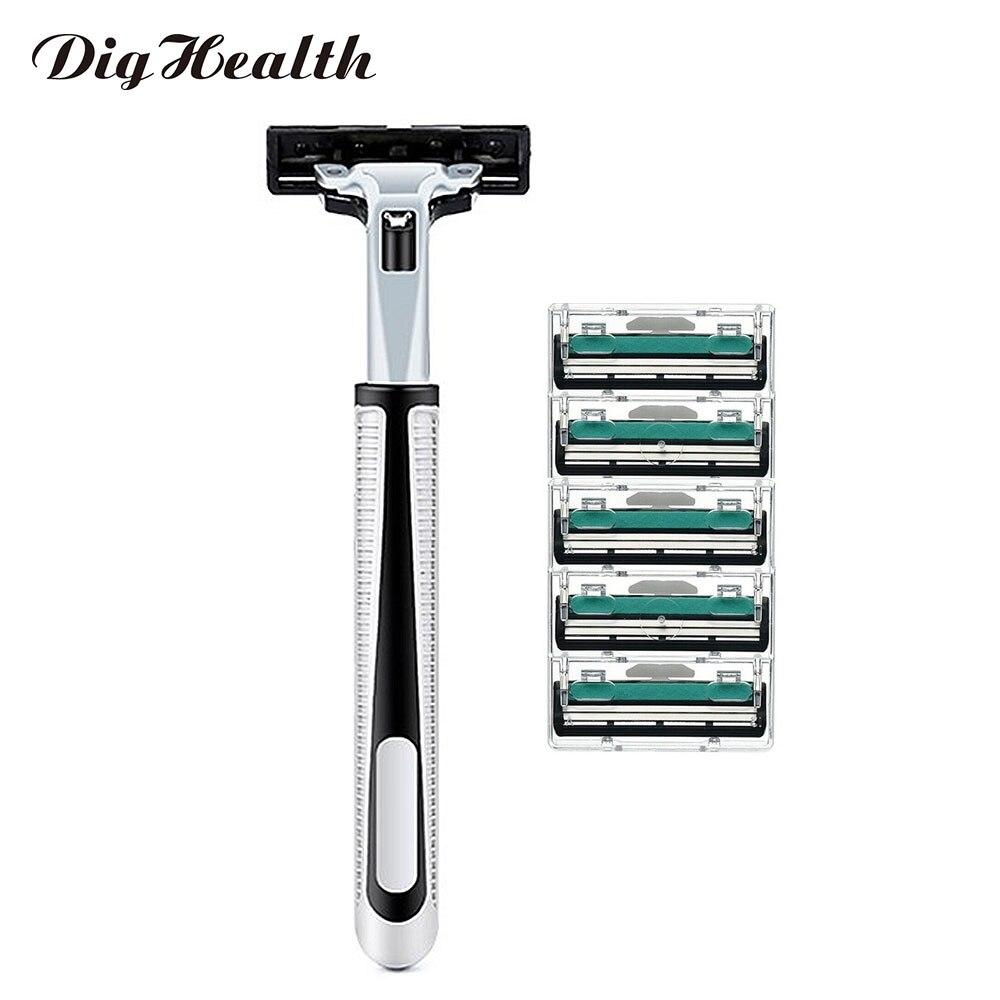 Dighealth 1 Machine+5 Three layer Razor Blades Manual