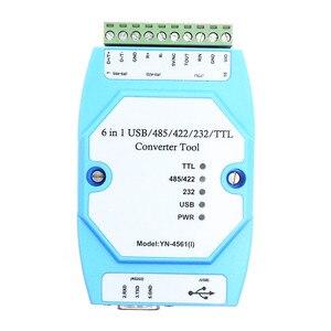 Image 5 - YN 4561 (I) izole altı tek izole seri modülü CP2102 USB/485/422/232/TTL karşılıklı dönüşüm seri YN 4561I YN4561I