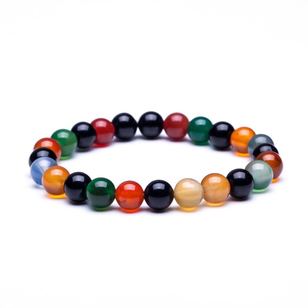 Matte Onyx Bracelet Mens
