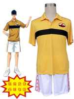 The Prince of Tennis Rikkai daigaku fuzoku chuu summer costume Man's Cosplay Costume Male halloween party