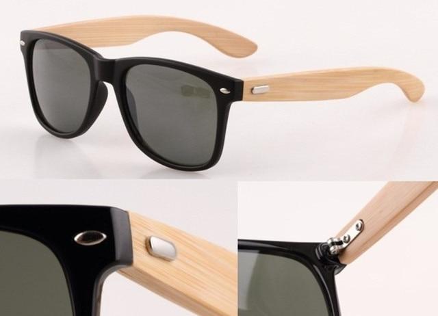 Design Echtholz Bambus UV-Schutz Unisex-Sonnenbrille - Versandkostenfrei RK4XobjRR7