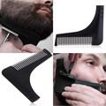 Beard Bro Hot Selling Perfect Lines Comb Beard Shaping Tool Sex Man Gentleman Beard template comb brush Tool,Shaving Brush