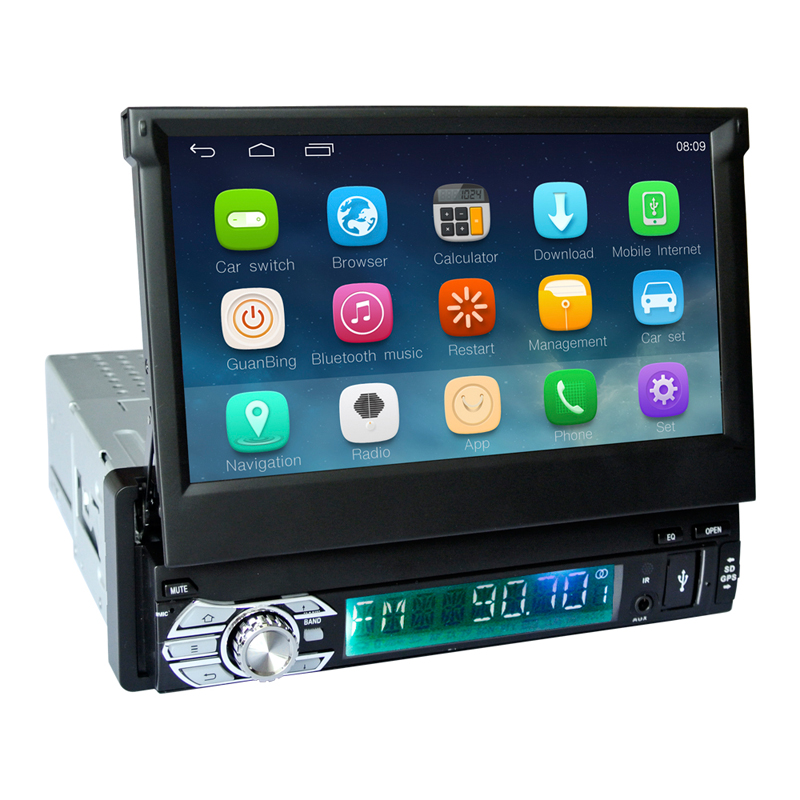 Android 6.0 system 1 din 7 inch for Car DVD Radio Player GPS Navigation Bluetooth Wi-Fi Car Multimedia Player