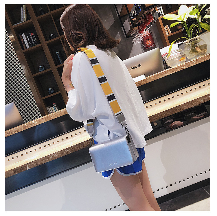2018 Summer Crossbody Bags For Women Ladies Casual Mini Color Strap Messenger Bag For Girls Flap Pu Leather Femme Shoulder Bags