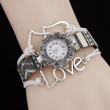 New Fashion 2019 Watches Women Antique LOVE Style B