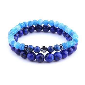 Bracelet Lapis Lazuli Pour Homme