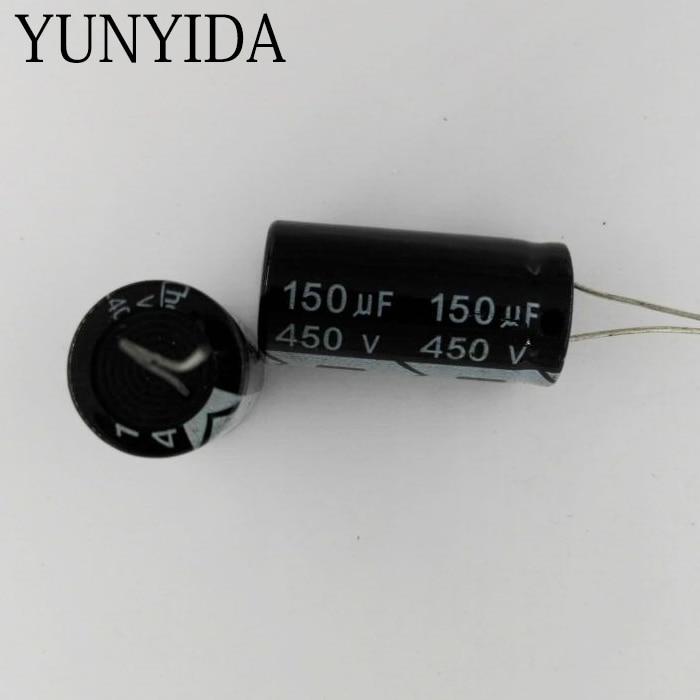 3PCS   450V 150UF   180UF  Aluminum Electrolytic Capacitor