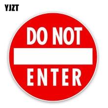 Adesivo de personalidade engraçado yjzt, 15cm x 15cm sem entrada em pvc, adesivo para carro 12-0193