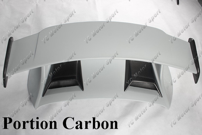 Full / Portion Carbon Fiber / FRP Fiber Glass GT3-Style Rear Spoiler Fit For 2016-2018 911 991.2 Carrera & S Trunk GT Wing