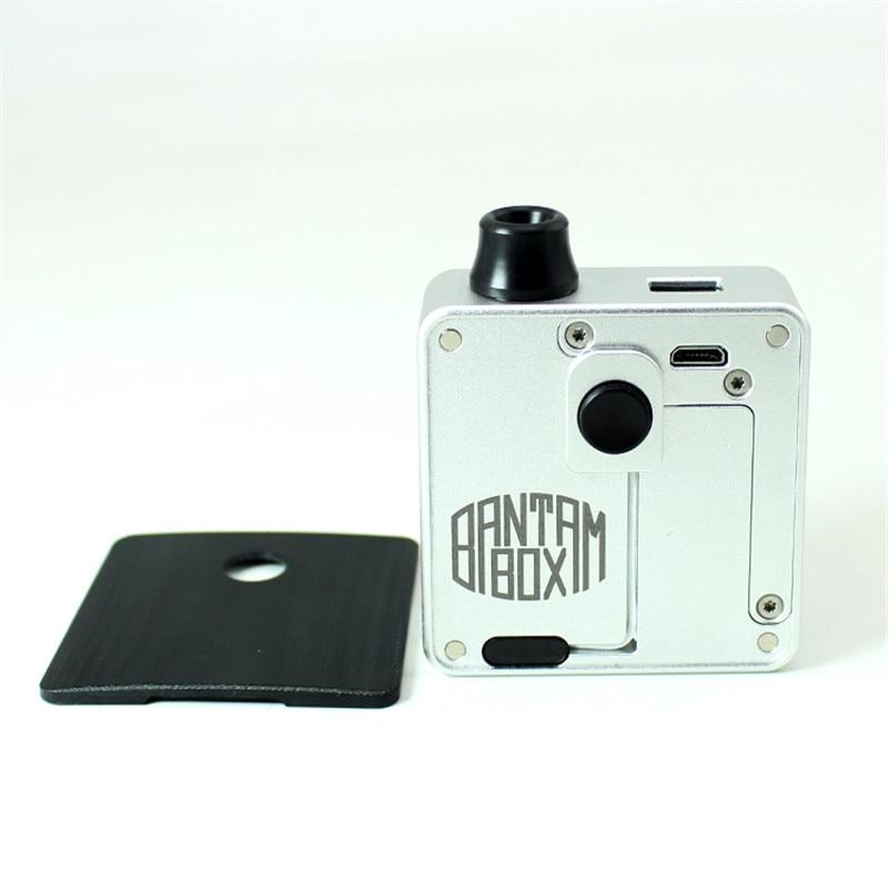 Новейшая SXK Bantam коробка мод SXK 30 Вт bb мини коробка с черным серебристым цветом bb коробка 5 мл огромный флакон модов и USB порт vape испаритель