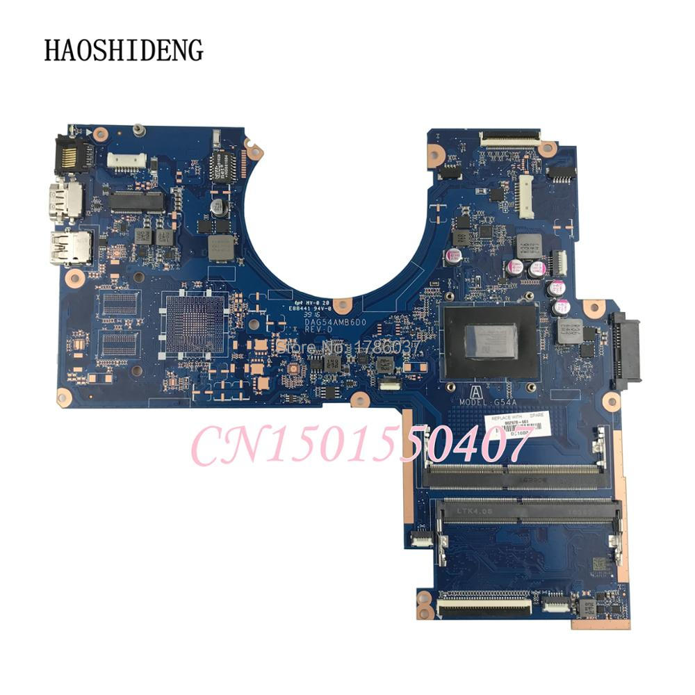 цена HAOSHIDENG 862978-601 for HP Pavilion 15-AW 15-aw053nr Laptop Motherboard 862978-501 862978-001 DAG54AMB6D0 with A12-9700P