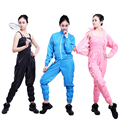 Low Price Lose Weight Sauna Service (Suit Pants + Coat ) Clothing Weight Loss Sauna Suits Slimming Pants Slimming Clothes