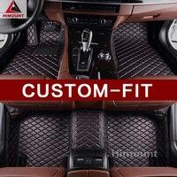 Custom fit car floor mats for Maserati Ghibli Quattroporte Levante GranTurismo MC car styling waterproof full protection carpet