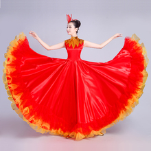 2018 New Ladies Opening Dance Grand Stage Dress Stage Performance Dress Modern Dance Ethni