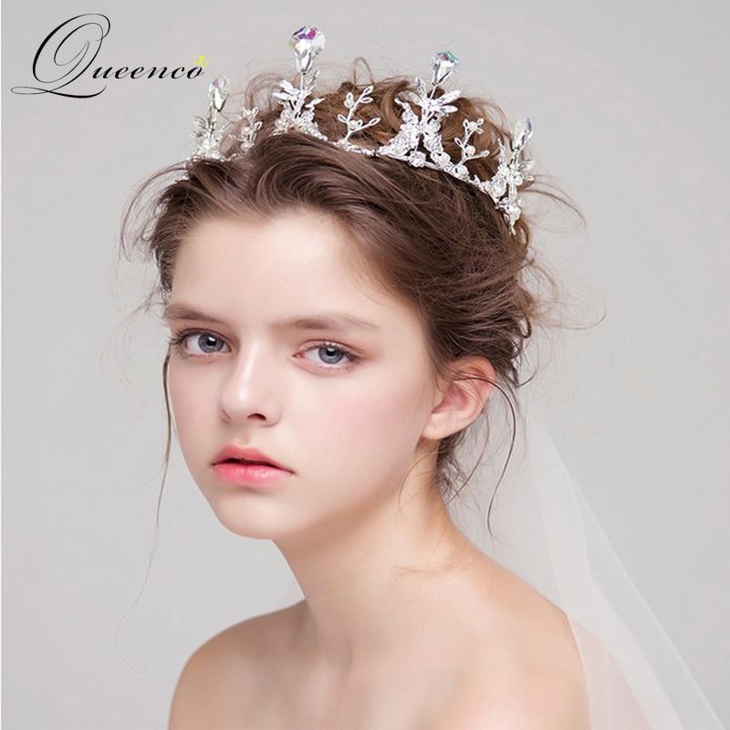 Wedding Hairstyles With Tiara And Veil: Butterfly Wedding Bridal Crystal Tiara Crowns Rhinestone