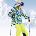 2017 meninos conjuntos de roupas de inverno à prova de vento camuflagem jaqueta com capuz + calça crianças ternos de esqui esporte Russa crianças de neve meninos conjuntos