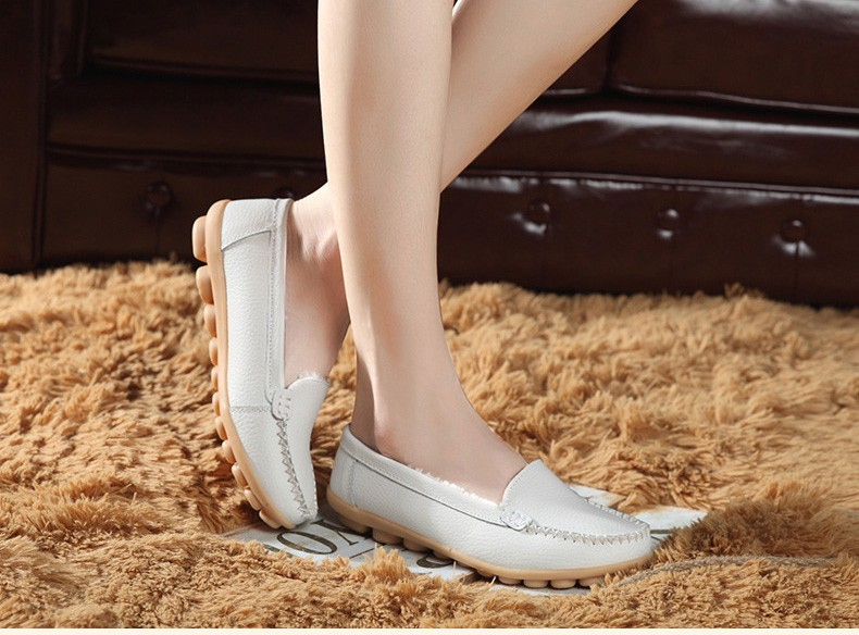 HY 918-2 (18) women's flats loafers shoes