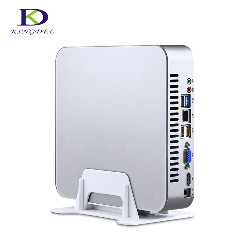 Newest Launch Quad-Core Intel I7 7700T Mini PC Kabylake HTPC I5 7500T Desktop Computer Windows10  VGA  HDMI VGA 32G RAM 1TB