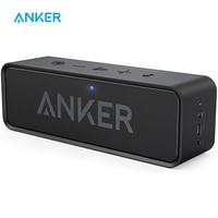 Anker-Altavoz portátil Bluetooth con micrófono incorporado, dispositivo inalámbrico para reproducción de audio, 66 pies de distancia, doble controlador de bajos, 24 horas de reproducción, Soundcore
