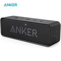 Anker SoundCore Portable Wireless Bluetooth Speaker with Dual Driver Rich Bass 24h Playtime 66 ft Bluetooth Range & Built in Mic