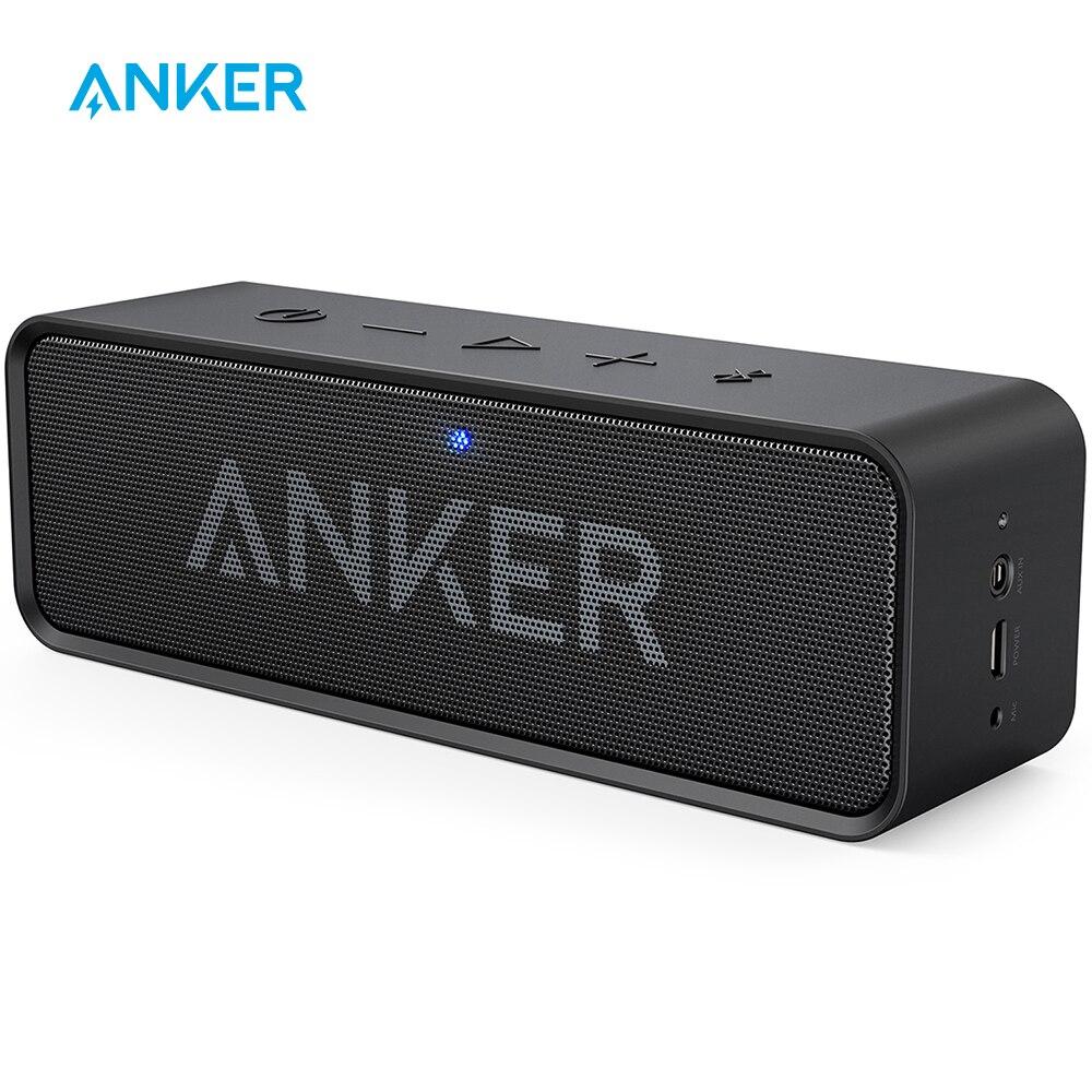 Anker Soundcore Портативный беспроводной Bluetooth динамик с двумя драйверами богатый бас 24h Playtime 66 ft Bluetooth Диапазон и встроенный микрофон|bluetooth speaker|portable wireless bluetooth speakerwireless bluetooth speaker | АлиЭкспресс - Классные блютус-колонки