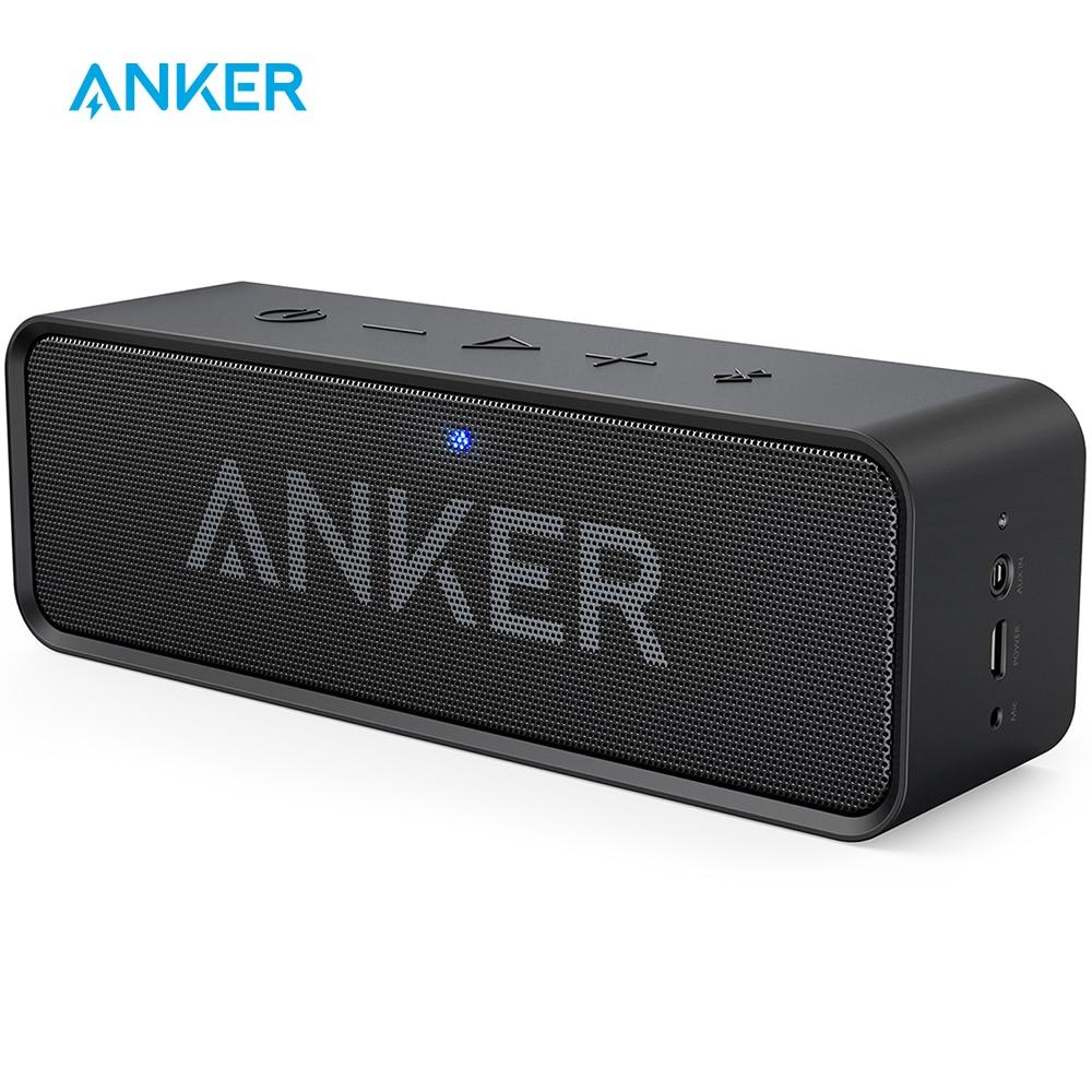 Anker Soundcore altavoz inalámbrico portátil con Bluetooth con bajos ricos de Doble controlador 24h tiempo de reproducción de 66 pies Bluetooth y micrófono incorporado|bluetooth speaker|portable wireless bluetooth speakerwireless bluetooth speaker - AliExpress