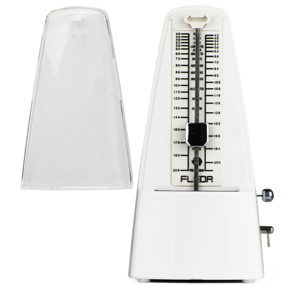 FLEOR Professional Pyramid Mechanical Metronome Musical Timer Beat ...