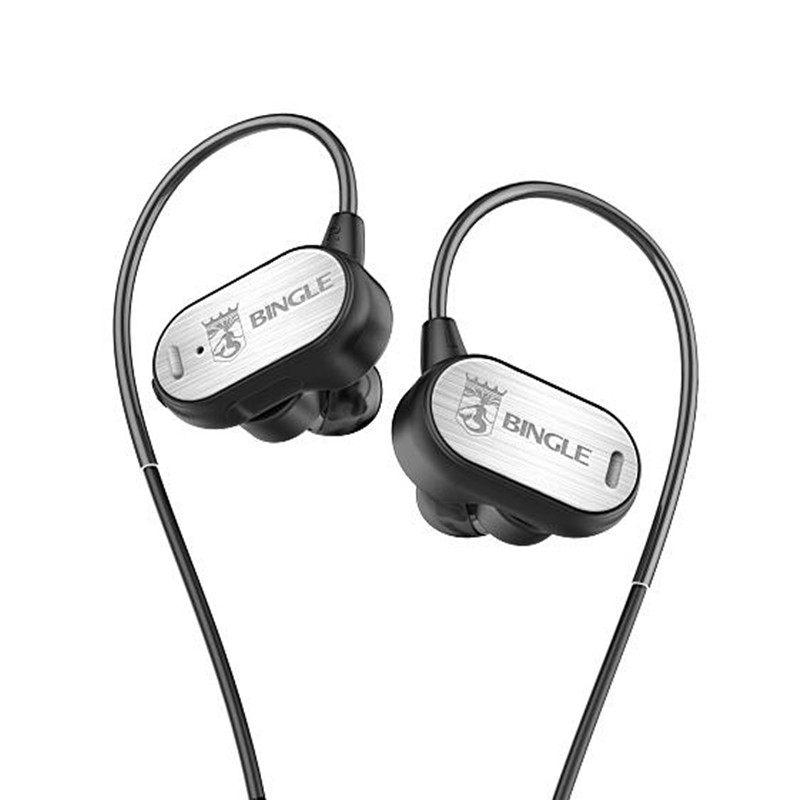 Bingle FB50 Bluetooth Headset Wireless Stereo Earphone for Phone Sports Bluetooth 4.1 Headphone Smart  Magnet Switch Earbuds Mic