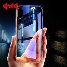 Luxury Soft TPU Phone Cases For Huawei P20 Pro Lite Case Nova 3E Transparent Silicone Back Cover For Huawei P10 Lite Plus Shell(China)