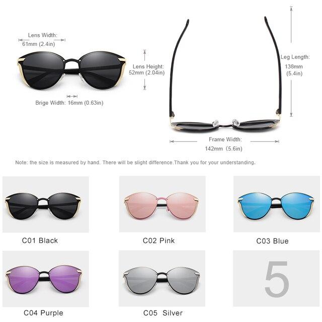 KINGSEVEN Cat Eye Sunglasses  2