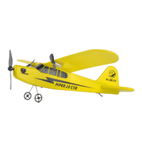 Cooplay Retro Sea Gull Rc Airplane With Plastic Material Remote Control Helicopter Airplane Kid Model Aircraft