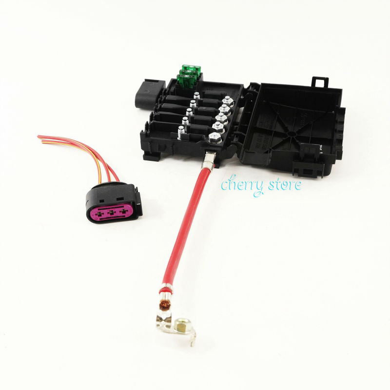 new 1j0 937 617 d battery fuse box terminal connector plug kit for vw  beetle jetta